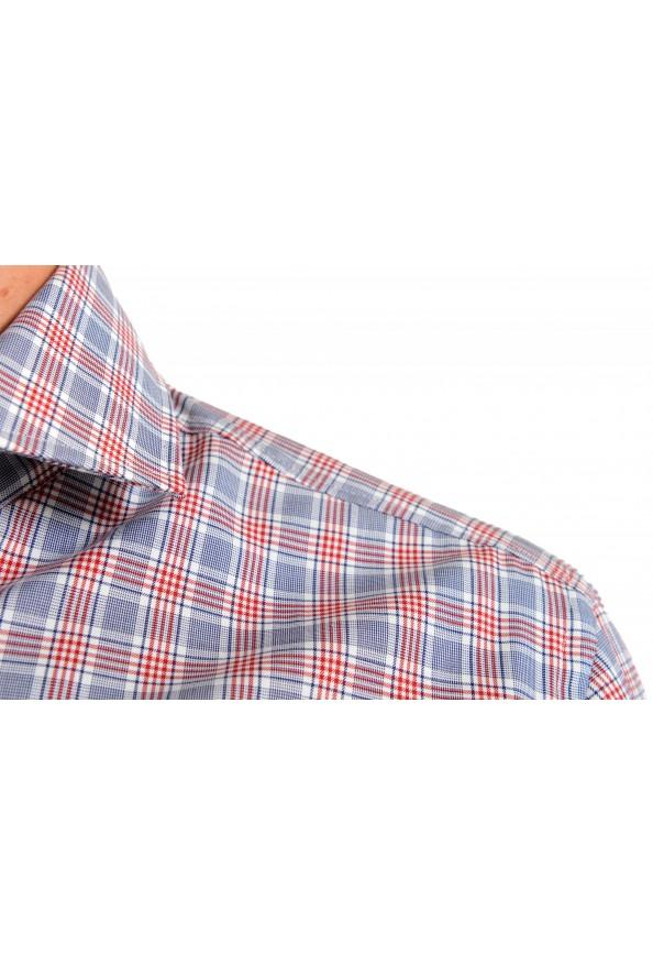 "Hugo Boss Men's ""Jason"" Slim Fit Plaid Long Sleeve Dress Shirt : Picture 5"
