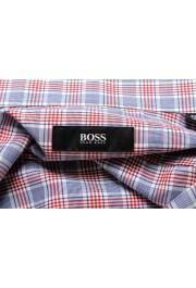 "Hugo Boss Men's ""Jason"" Slim Fit Plaid Long Sleeve Dress Shirt : Picture 7"