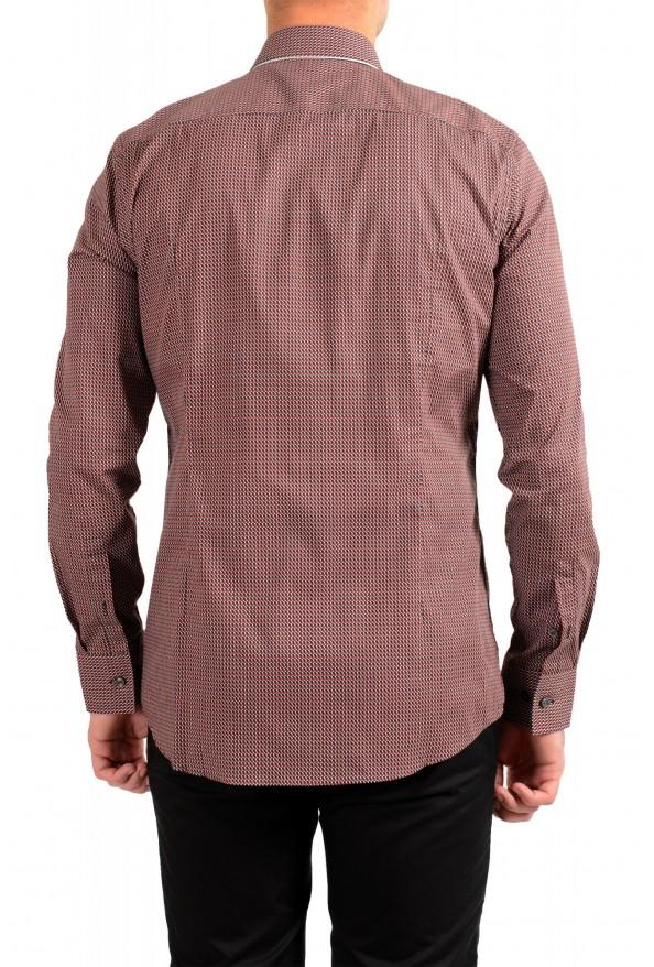 "Hugo Boss Men's ""Jango"" Slim Fit Geometric Print Dress Shirt: Picture 3"