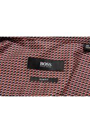 "Hugo Boss Men's ""Jango"" Slim Fit Geometric Print Dress Shirt: Picture 7"