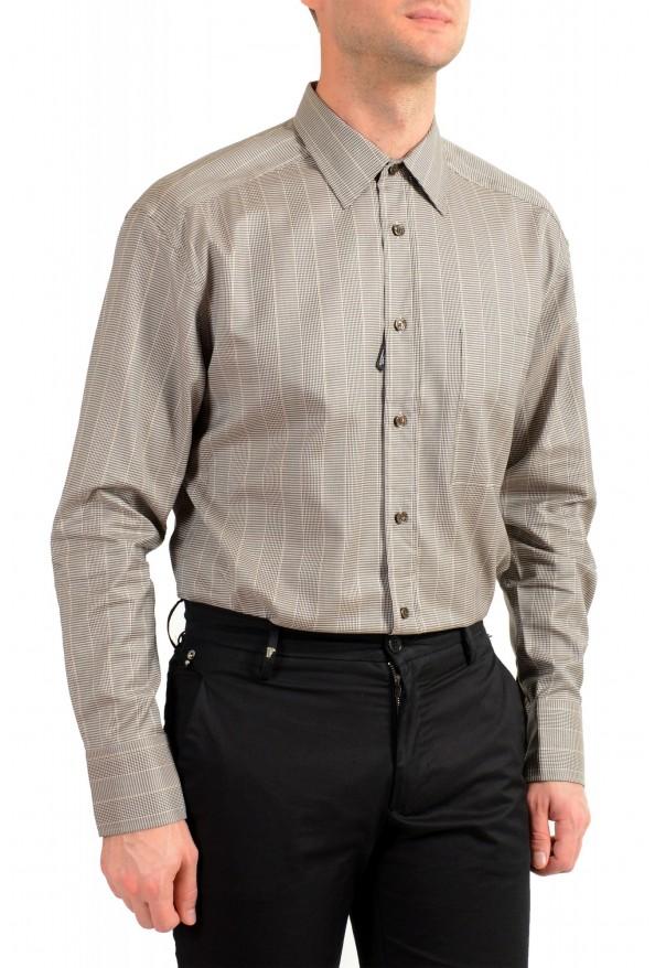 "Hugo Boss Men's ""Felton"" Relaxed Fit Plaid Dress Shirt: Picture 4"