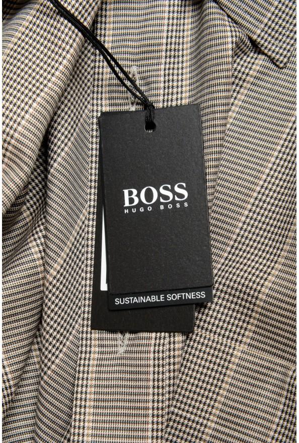 "Hugo Boss Men's ""Felton"" Relaxed Fit Plaid Dress Shirt: Picture 6"