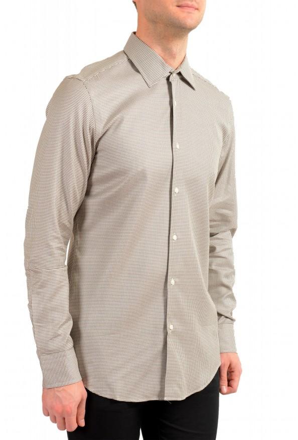 "Hugo Boss Men's ""Jango"" Slim Fit Geometric Print Dress Shirt: Picture 2"