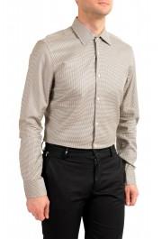 "Hugo Boss Men's ""Jango"" Slim Fit Geometric Print Dress Shirt: Picture 4"