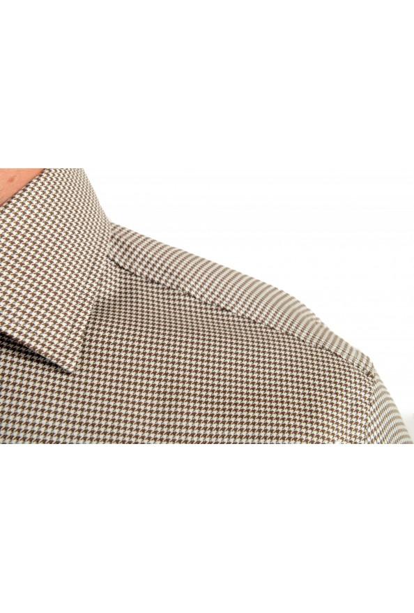 "Hugo Boss Men's ""Jango"" Slim Fit Geometric Print Dress Shirt: Picture 5"