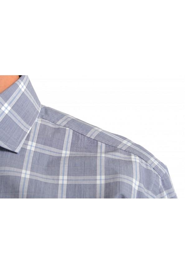 "Hugo Boss Men's ""Jason"" Slim Fit Plaid Long Sleeve Dress Shirt: Picture 5"