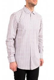 "Hugo Boss Men's ""Jason"" Slim Fit Plaid Long Sleeve Dress Shirt: Picture 2"