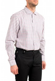"Hugo Boss Men's ""Jason"" Slim Fit Plaid Long Sleeve Dress Shirt: Picture 4"