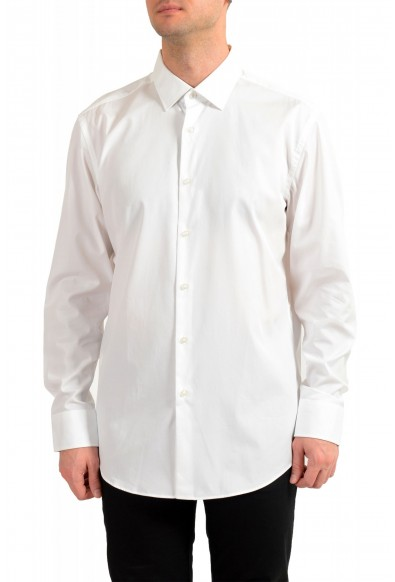 """Hugo Boss Men's """"Jesse"""" Slim Fit White Long Sleeve Dress Shirt"""