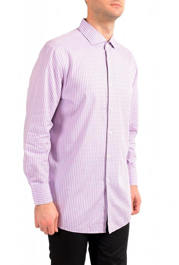 "Hugo Boss Men's ""Mark US"" Sharp Fit Plaid Dress Shirt: Picture 2"