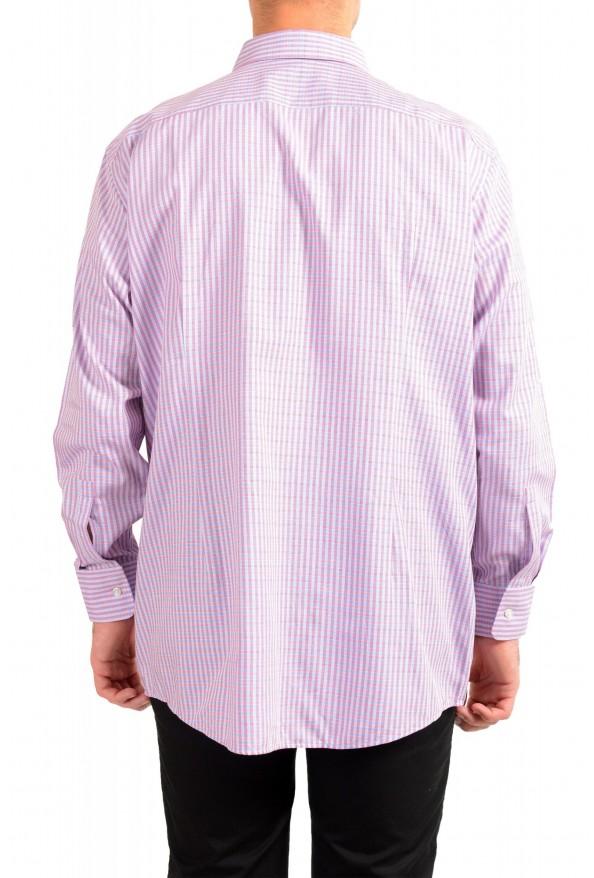 "Hugo Boss Men's ""Mark US"" Sharp Fit Plaid Dress Shirt: Picture 3"