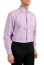 "Hugo Boss Men's ""Mark US"" Sharp Fit Plaid Dress Shirt: Picture 4"