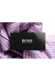 "Hugo Boss Men's ""Mark US"" Sharp Fit Plaid Dress Shirt: Picture 6"