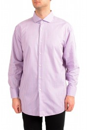 "Hugo Boss Men's ""Mark US"" Sharp Fit Plaid Dress Shirt"