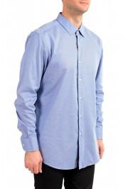 "Hugo Boss Men's ""Jesse"" Slim Fit Blue Long Sleeve Dress Shirt: Picture 2"