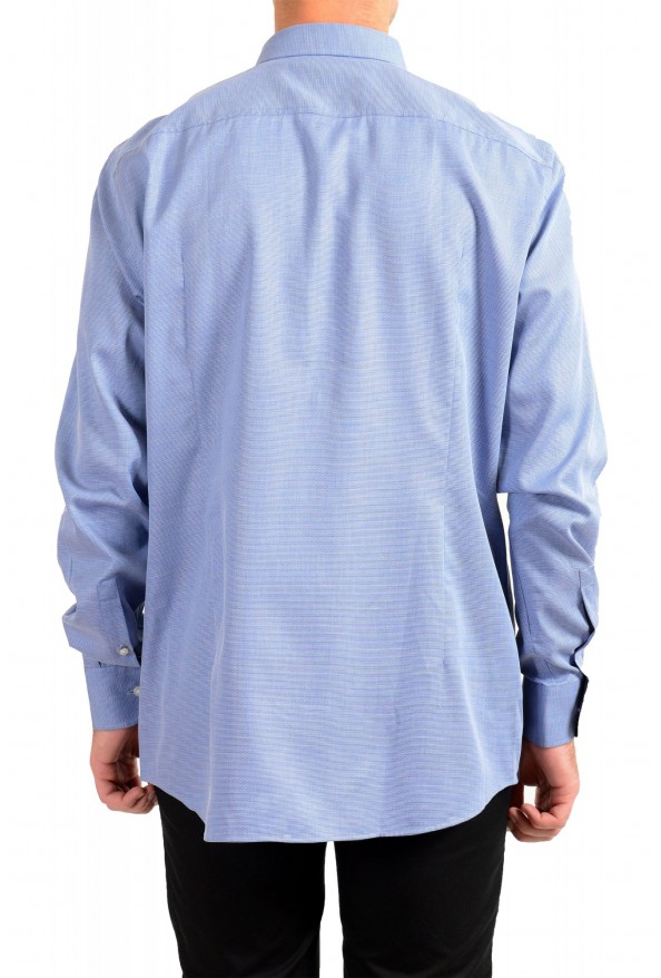 "Hugo Boss Men's ""Jesse"" Slim Fit Blue Long Sleeve Dress Shirt: Picture 3"