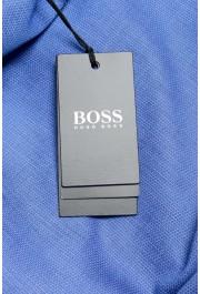 "Hugo Boss Men's ""Jesse"" Slim Fit Blue Long Sleeve Dress Shirt: Picture 6"