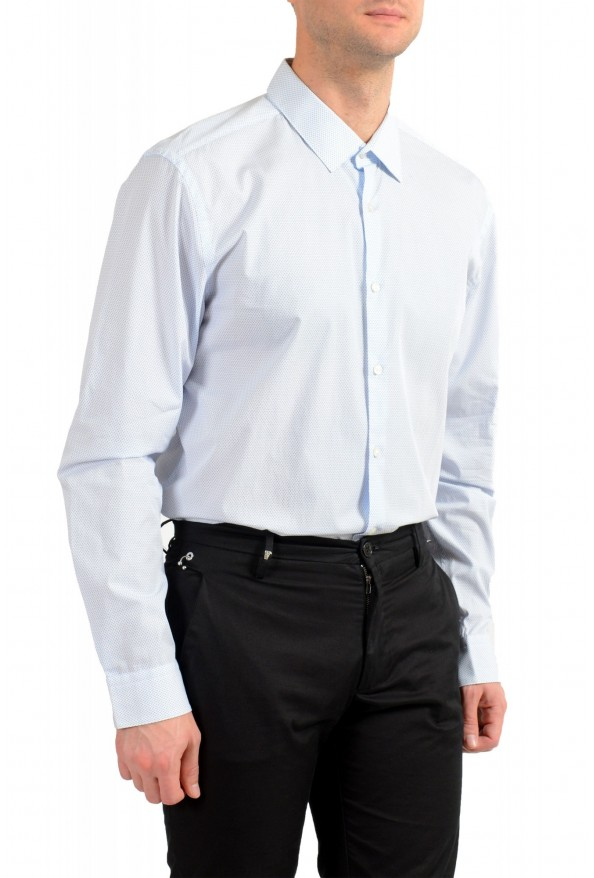"Hugo Boss Men's ""Isko"" Slim Fit Geometric Print Dress Shirt : Picture 4"