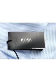 "Hugo Boss Men's ""Isko"" Slim Fit Geometric Print Dress Shirt : Picture 6"