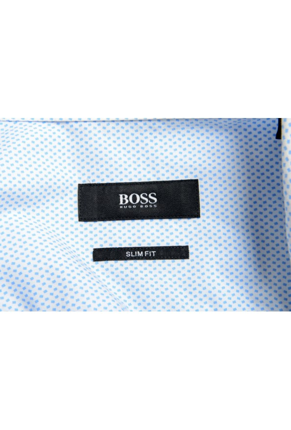 "Hugo Boss Men's ""Isko"" Slim Fit Geometric Print Dress Shirt : Picture 7"