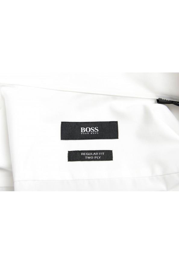 "Hugo Boss Men's ""George"" Regular Fit Tuxedo Dress Shirt: Picture 7"