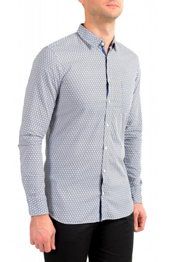 "Hugo Boss Men's ""Magneton_1"" Slim Fit Geometric Print Casual Shirt: Picture 2"