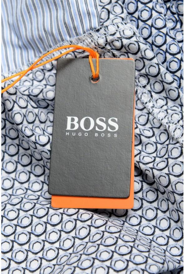 "Hugo Boss Men's ""Magneton_1"" Slim Fit Geometric Print Casual Shirt: Picture 5"