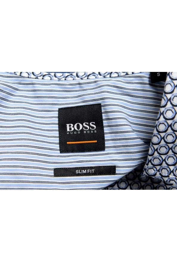 "Hugo Boss Men's ""Magneton_1"" Slim Fit Geometric Print Casual Shirt: Picture 6"