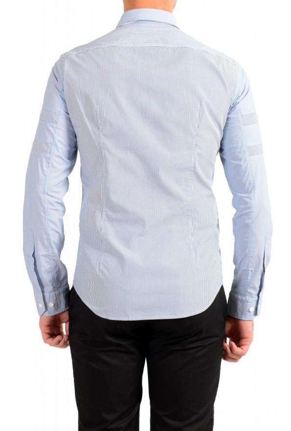 "Hugo Boss Men's ""BELMONDO_R"" Regular Fit Striped Casual Shirt : Picture 3"