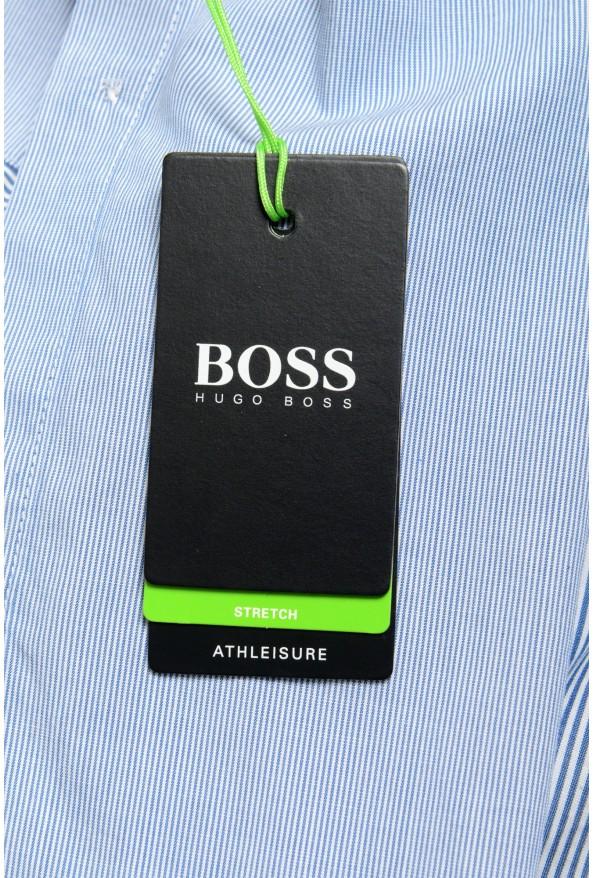 "Hugo Boss Men's ""BELMONDO_R"" Regular Fit Striped Casual Shirt : Picture 5"