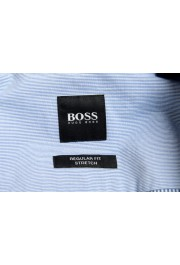 "Hugo Boss Men's ""BELMONDO_R"" Regular Fit Striped Casual Shirt : Picture 6"