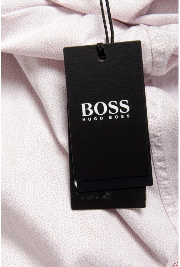 """Hugo Boss Men's """"Lukas"""" Regular Fit Geometric Print Casual Shirt : Picture 6"""