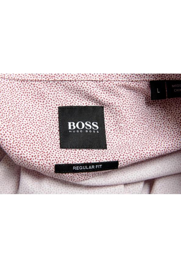 """Hugo Boss Men's """"Lukas"""" Regular Fit Geometric Print Casual Shirt : Picture 7"""