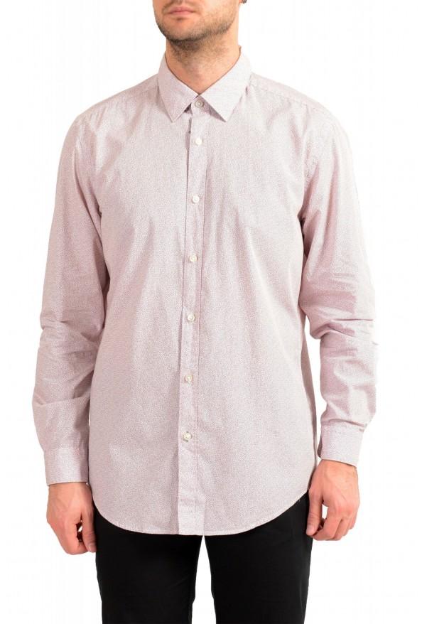 "Hugo Boss Men's ""Lukas"" Regular Fit Geometric Print Casual Shirt"