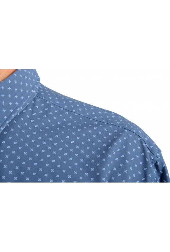 "Hugo Boss Men's ""Ronni_F"" Slim Fit Geometric Print Casual Shirt : Picture 5"