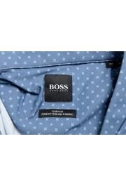 "Hugo Boss Men's ""Ronni_F"" Slim Fit Geometric Print Casual Shirt : Picture 7"