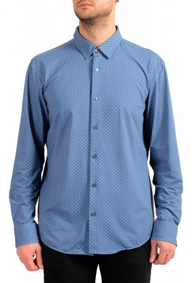 "Hugo Boss Men's ""Ronni_F"" Slim Fit Geometric Print Casual Shirt"