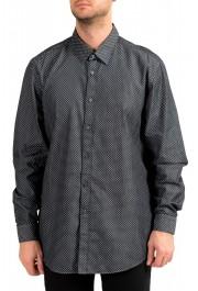 "Hugo Boss Men's ""Lukas_41"" Regular Fit Geometric Print Casual Shirt"