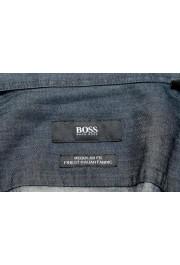 """Hugo Boss Men's """"Lukas_41"""" Regular Fit Geometric Print Casual Shirt : Picture 6"""
