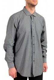 "Hugo Boss Men's ""Ronni_53F"" Slim Fit Geometric Print Casual Shirt : Picture 2"