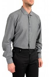 "Hugo Boss Men's ""Ronni_53F"" Slim Fit Geometric Print Casual Shirt : Picture 4"