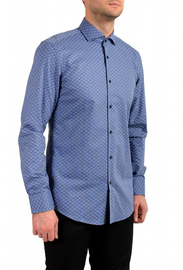 "Hugo Boss Men's ""Jason"" Slim Fit Geometric Print Dress Shirt : Picture 2"