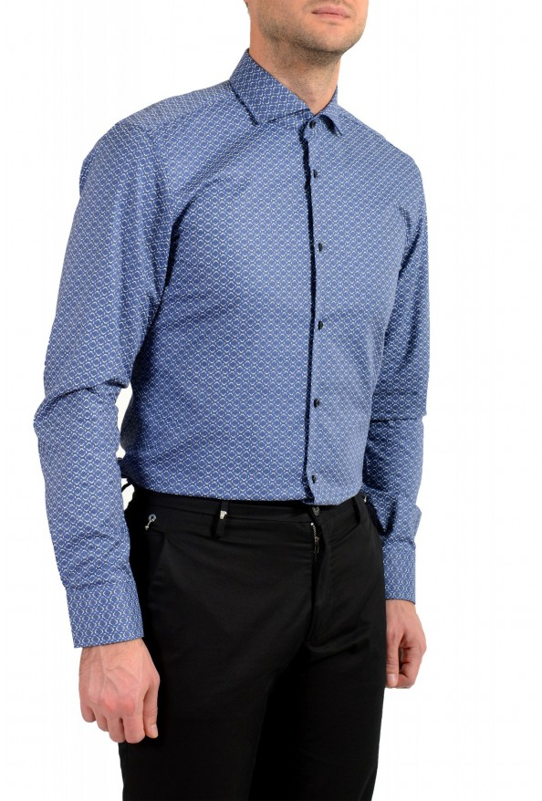 "Hugo Boss Men's ""Jason"" Slim Fit Geometric Print Dress Shirt : Picture 5"