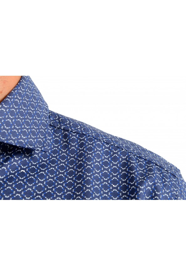 "Hugo Boss Men's ""Jason"" Slim Fit Geometric Print Dress Shirt : Picture 7"