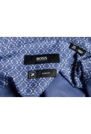 "Hugo Boss Men's ""Jason"" Slim Fit Geometric Print Dress Shirt : Picture 9"