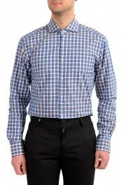 "Hugo Boss Men's ""T-Christo"" Slim Fit Plaid Long Sleeve Dress Shirt: Picture 2"