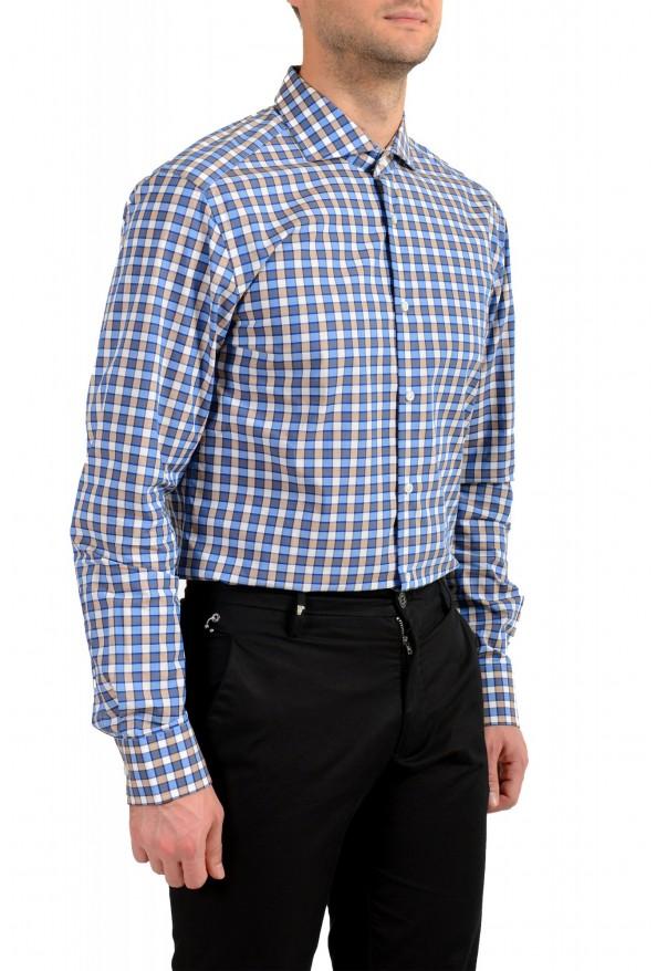 "Hugo Boss Men's ""T-Christo"" Slim Fit Plaid Long Sleeve Dress Shirt: Picture 3"