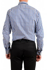 "Hugo Boss Men's ""T-Christo"" Slim Fit Plaid Long Sleeve Dress Shirt: Picture 4"