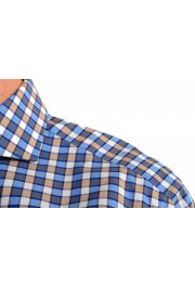 "Hugo Boss Men's ""T-Christo"" Slim Fit Plaid Long Sleeve Dress Shirt: Picture 5"