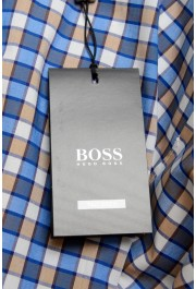 "Hugo Boss Men's ""T-Christo"" Slim Fit Plaid Long Sleeve Dress Shirt: Picture 6"